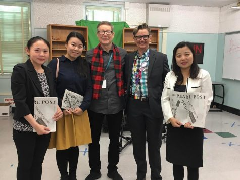 Members of Jiangsu-California International Education Center visit DPMHS