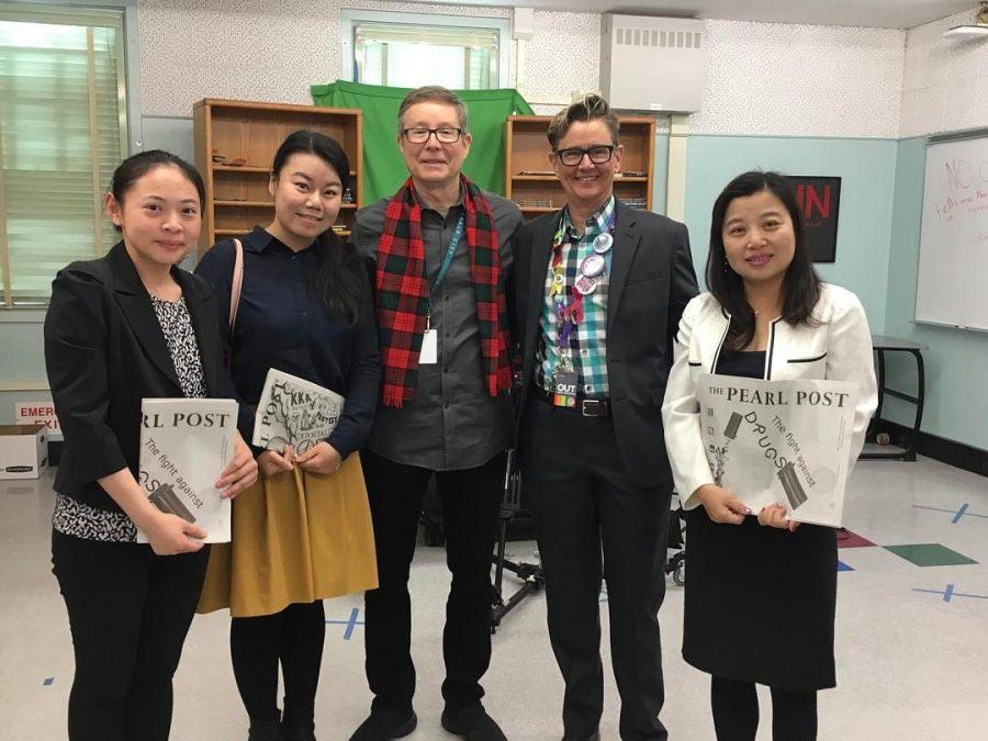 Members of Jiangsu-California International Education Center visit DPMHS