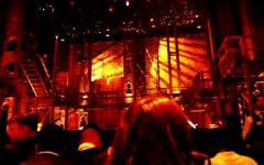 Students attend the Hamilton Musical at the Pantages Theatre